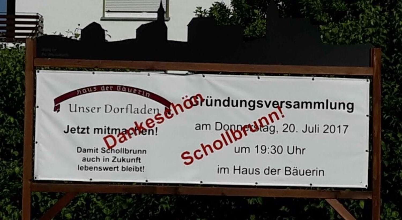 Unser Dorfladen Schollbrunn | Gemeinde Schollbrunn